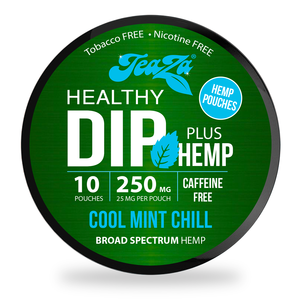 Cool Mint Chill Hemp Dip Pouches