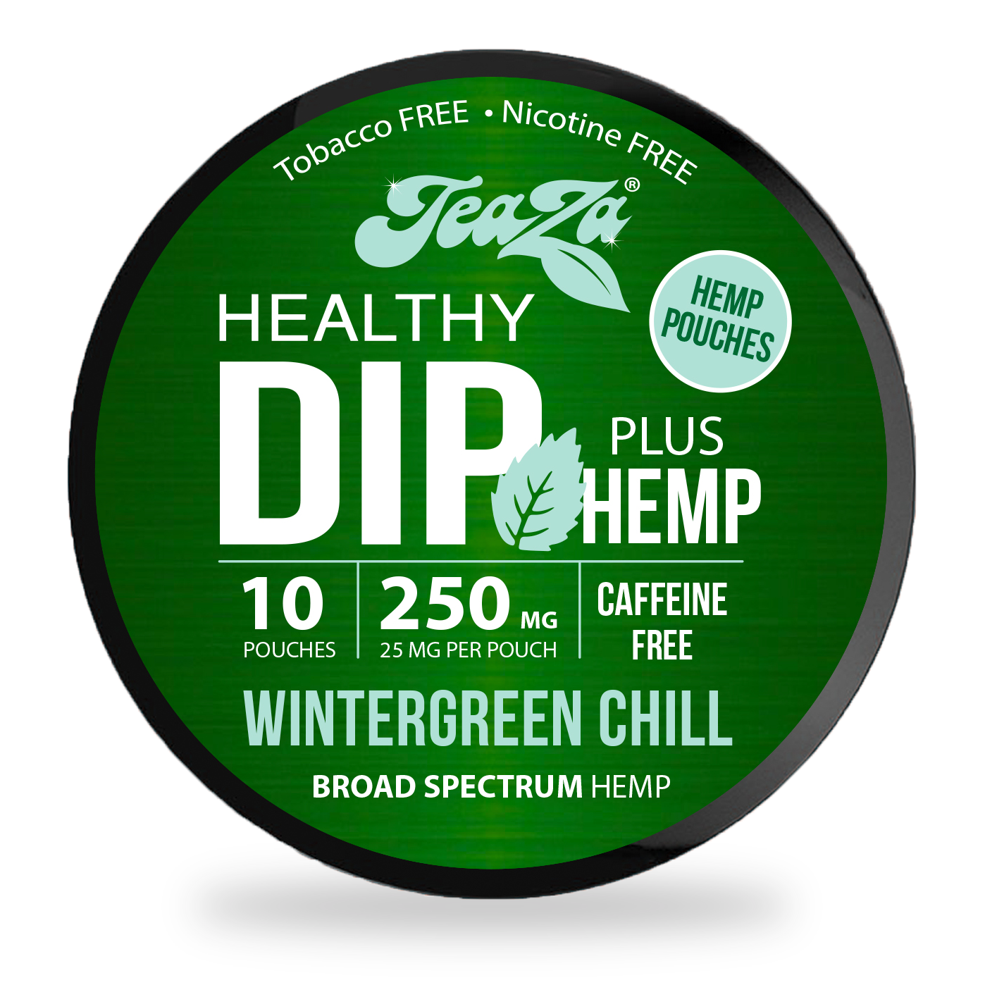 Wintergreen Chill Hemp Dip Pouches